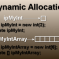 Dynamic memory allocation in C++