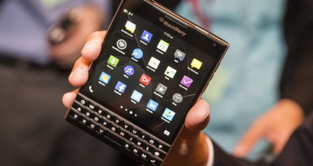 Blackberry Passport: A Handset with Dual Control Keyboard