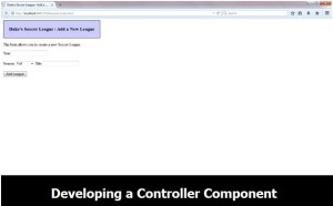Designing a Controller Component Part-1