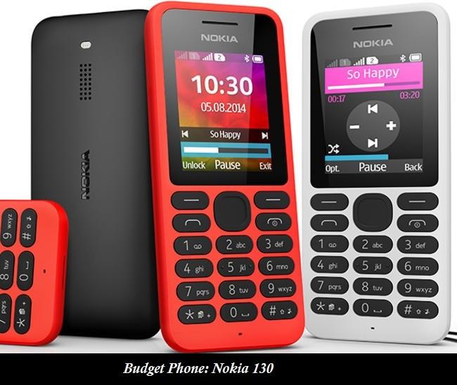 Budget Phone: Nokia 130
